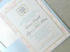 Sincerely Yours Online: Lauren + Ryan: the wedding invitation