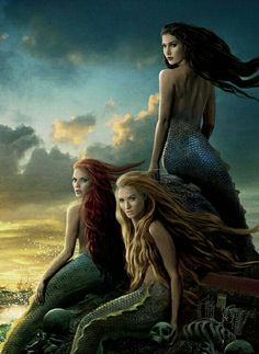 Mermaids (from pirates of the caribbean 4)