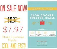 slow cooker plans summer sale banner