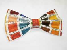 Excited to share the latest addition to my #etsy shop: Painter's Palette Pre-tied Bow Tie | bow ties for Artists | Gifts for Painters | Paint Palette | Oil Painting | bow ties for boys | Art ties http://etsy.me/2ACp62t #accessories #rainbow #graduation #fathersday #monicamaria
