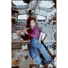 Mission Specialist Ellen Ochoa was a scientist, inventor, pilot, classical flutist, and became the first Latina astronaut in the world to go to space. Accepted into the NASA Training Program in 1990, she completed training in 1991. Chosen for four missions totaling almost 1,000 hours in space, Ochoa's final flight was to the International Space Station in 2002. Ochoa's numerous honors include NASA's highest award, the Distinguished Service Medal.