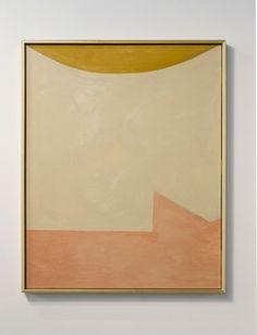 Nude woman under the sun, oil on canvas, 60 x 40 in | Mattea Perrotta