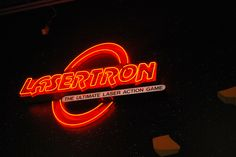 Lasertron at Boondocks Food and Fun Intense Games, Boondocks, Neon Signs, Fun, Hilarious