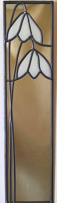 Classic Snowdrop mirror 10x40 from Catfish Glass