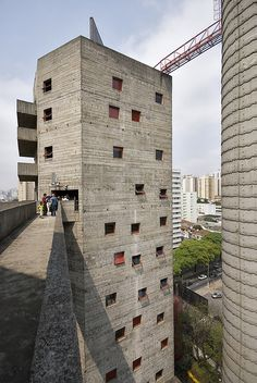 SESC POMPEIA | SÂO PAULO | BRAZIL: *Built: 1977-1986; Architect: Lina Bo Bardi*