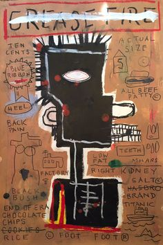 JEAN MICHEL BASQUIAT More Pins Like This At FOSTERGINGER @ Pinterest
