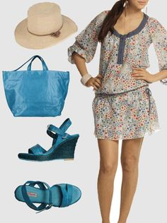 Look playero. Artículos obtenidos de Dress For Less y Yoox.   es.inviptus.com