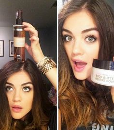 Lucy Hale gives us the breakdown on her A.M. moisturizing process
