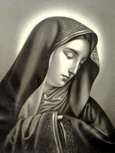 A French lithograph of Carlo Dolci's Mater Dolorosa.