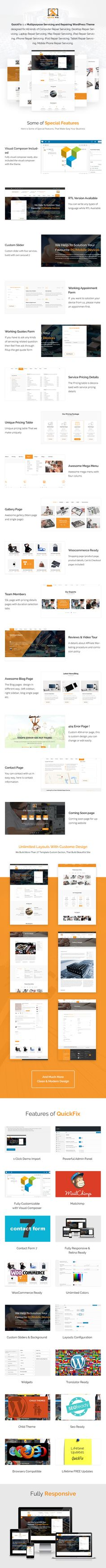 CoSolu is a Multipurpose Servicing and Repairing WordPress Theme designed for All kinds of Computer Repair Servicing, Desktop Repair Servicing, Laptop Repair Servicing, Mac Repair Servicing, iPad Repair Servicing, iPhone Repair Servicing, iPod Repair Servicing, Tablet Repair Servicing, Mobile Phone Repair Servicing, Car Servicing, etc.