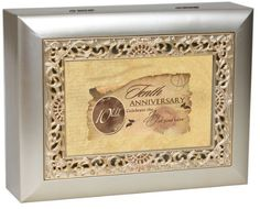 Cottage Garden Music Box - 10Th Anniversary Plays Unchained Melody With Ornate Champaign Silver Finish by Cottage Garden, http://www.amazon.com/dp/B0065OG4AK/ref=cm_sw_r_pi_dp_1PWHrb139T0JJ