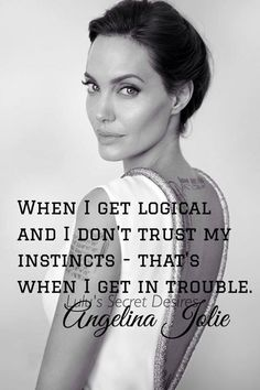 Trust intuition...