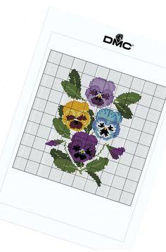 Pensées décoratives - Fleurs & jardin - DMC