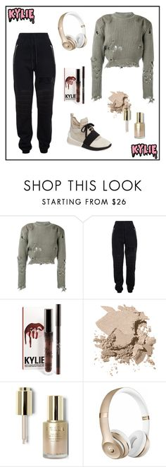 """""""Kylie jenner"""" by milenn-h ❤ liked on Polyvore featuring adidas Originals, Jeremy Scott, Bobbi Brown Cosmetics, Stila, Beats by Dr. Dre, Kendall + Kylie, modern and vintage"""