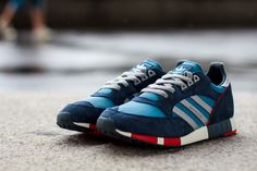 "adidas Originals Boston Super ""Blue, Silver Metallic Red"" - EU Kicks: Sneaker Magazine"