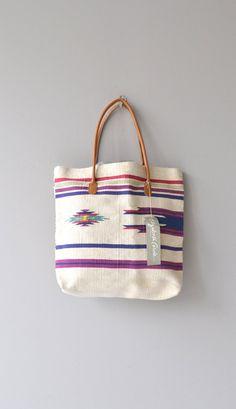 Sosa tote bag vintage southwest tote bag cotton by DearGolden