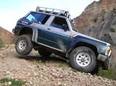 Nissan Patrol Y60 en Palca - Bolivia