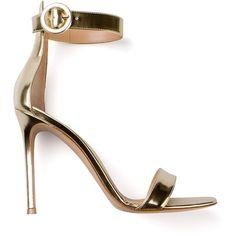 GIANVITO ROSSI stiletto sandals found on Polyvore