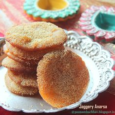 Jaggery Recipes, Diwali Special Recipes, Mouth Freshener, Tree Of Life Painting, Sweet Pastries, Dough Balls, Rice Flour, Sweets, Snacks