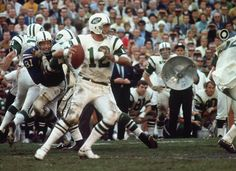 Jets quarterback Joe Namath boldly predicted victory over the Baltimore Cols in Super Bowl III and then delivered in Best Kids Watches, Cool Watches, Sydney Leroux, Joe Namath, Willie Mays, New York Jets, Sports Photos, Nfl Football, Super Bowl