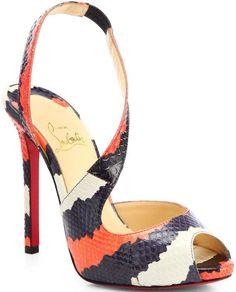 pinterest.com/fra411 #shoes - Christian Louboutin 2014