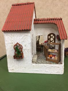Cheese shop of  Linda T's 2017 1/4 scale Fun Day project The Vineyard