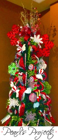 Candy Christmas tree!