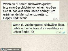 Titanic und Aschenputtel ------------------------------------------------ #Fail #titanic #rückwärts #aschenputtel #whatsapp ------------------------------------------------ Mehr unter: https://de.1jux.net/login?rid=109687 und unter: https://www.facebook.com/WitzeMemeLustigesZitate