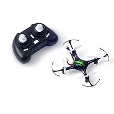 RC Quadcopter Drone Mini ,4 Channel 2.4GHz 6-Axis Gyro LED Headless Mode Hexacopter Remote Control Aircraft RC Helicopters Black ** Visit the image link more details.