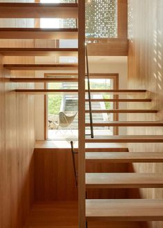 """Eco wooden stylish home in Erkheim, Germany designed by Alfredo Häberli Architects:Alfredo Häberli Location:Erkheim, Germany Year: 2016 Photo courtesy:Jonas Kuhn Description: """"In the beginning stood an idea. The idea by Baufritz owner Dagmar Fritz-Kramer and designer Alfredo Haeberli to create a project together. Their joint question: """"How do we want to live in the future?"""" …"""