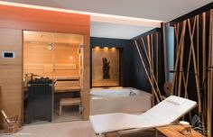 Wellness spa: spa by langmayer immobilien & home staging modern Wellness Joan Becher Spa Design, House Design, Home Staging, Wellness Spa, Workout Room Home, Gym Room At Home, Sauna Room, Spa Rooms, Bathroom Spa