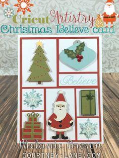 Cricut Artistry Everything Christmas card