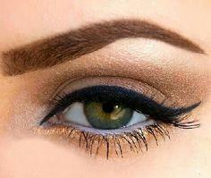 Fab neutral smokey eye //  #makeup #inspiration