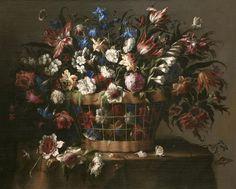 Juan de Arellano - Cesta de flores - c.1670