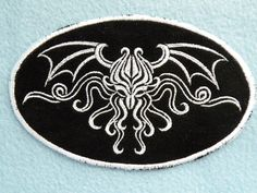 Cthulhu Iron on Patch by GerriTullis on Etsy, $10.50