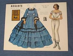 Melanie from Gone with the Wind paper doll by Pat Stall