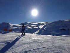 Neujahr 2013 im Schnee beim Sonnen-Skifahren in Süd-Tirol bei Ratschings unterhalb der Bergstation der Sachsneralm in der Schneewüste #PickDeck Amazing Places, The Good Place, Snow, Travel, Outdoor, Roots, Ski, New Years, New Years Eve
