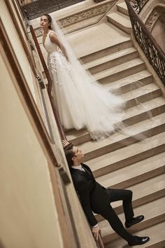Alisha Nesvat photographed by Sebastian Faena for Carolina Herrera Bridal Spring 2019 Wedding Dress Trends, Designer Wedding Dresses, Bridal Dresses, Wedding Gowns, Luxury Wedding, Parisian Wedding, Floral Wedding, Bridal Looks, Bridal Style