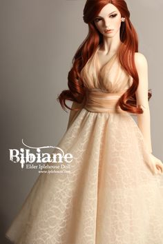 Iplehouse ball-jointed doll Bibiane. I'm quite fond of the way Iplehouse photographs and styles their dolls-- there is a lot of pretty on their website.