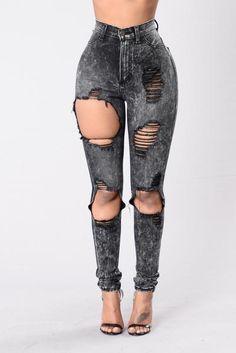 One In A Million Jeans - Black  @blackswanballet