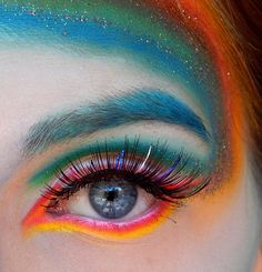 Rainbow Eyes by Carina Neff