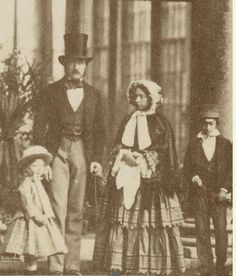 79c0606cc3d Queen Victoria and Prince Albert with Prince Edward and one of the  Princesses