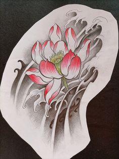 Floral Tattoo Design, Tattoo Designs, Asian Tattoos, Oriental Tattoo, Rooster, Japanese, Animals, Carp, Flowers