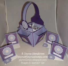 ~ ~ ~Jayne Stamps ~ ~ ~: That Basket with Pockets...And the Link to Find the Pattern