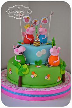 Somni Pastís: Peppa Pig para Mica!!!