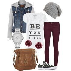 Super Cute! Love the beanie and jacket especially.