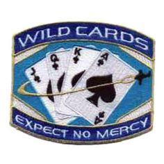 """Space: Above and Beyond - Wildcards (Version 2)   4"""" Patch"""