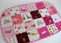 Patchwork placemat tutorial