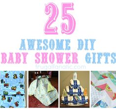 25 DIY Baby Shower Gift Ideas