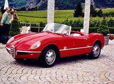 1955 Alfa Giulietta Spider Bertone Prototipohe | Alfa Romeo Giulietta Spider Prototype Bertone, 1955